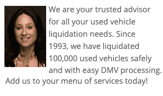 Used Vehicle Liquidation Service