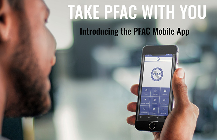 Introducing the PFAC Mobile App